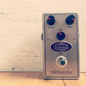 Rothwell hellbender (hand made in uk overdrive)