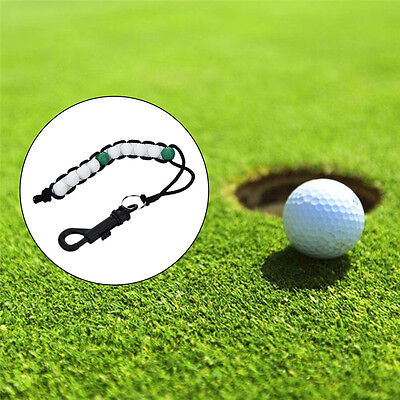 (Golf Bead Stroke Counter Score Golf Keeper Accessories with Carabiner Clip)