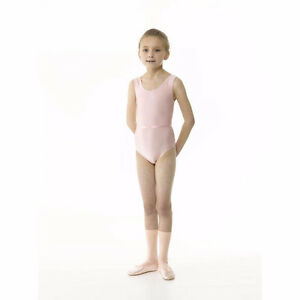pink slevless leotard size 5-7 Strathcona County Edmonton Area image 1
