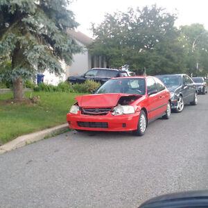 1999 Honda Civic CX Coupé (2 portes)