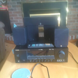 Yamaha yht-180 digital system with 5 speakers