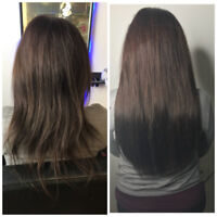 HAIR KANDY EXTENSIONS/SAME DAY hot fusions! in salon MOBILE