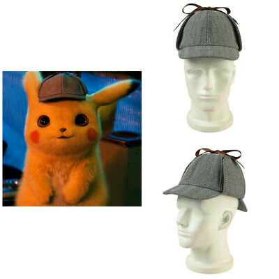Pokémon Go Detective Pikachu Cosplay Baseball Cap Sport Hat Men Unisex Hip Hop - Mens Baseball Halloween Costumes