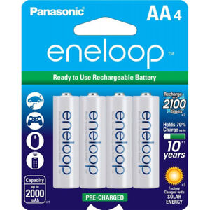 4 Piles AA Rechargeables Ni-MH Panasonic Eneloop BK3MCCA4BF
