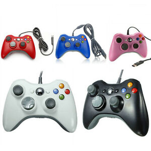 New-USB-Wired-Gamepad-Controller-For-MICROSOFT-Xbox-360-Slim-PC-Windows-7-UK