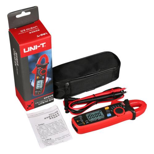 UNI-T UT210E Handheld True RMS AC/DC Current Clamp Meters Capacitance Tester