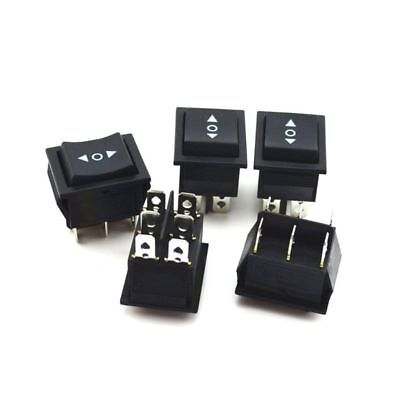 10x 6 Pins 3 Position On Off On Rocker Switch Control Button Power Auto Car
