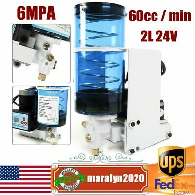 Electric Grease Pump 2l Automatic Lubrication Oil Pump Punch Butter Pump 6mpa Us