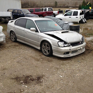 Parting Out JDM 98-01 Subaru Legacy's BH4 BH5 Twin Turbo's
