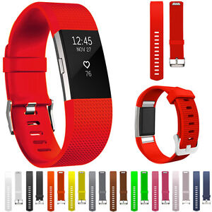 Para-Fitbit-Charge-2-Repuesto-Elegante-Correa-De-Reloj-Pulsera-Muneca-Fitness