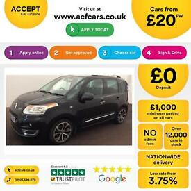 Citroen C3 Picasso 1.6HDi 16v ( 110bhp ) 2010MY Exclusive FROM £20 PER WEEK!