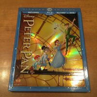 Peter Pan BLU-RAY + DVD Diamond Édition