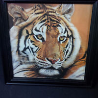 J Beck Tiger Painting