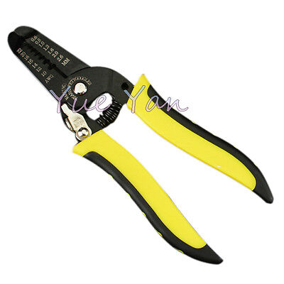 Wire Stripper Knife Crimper Pliers Crimping Tool Cable Stripping Wire Cutter
