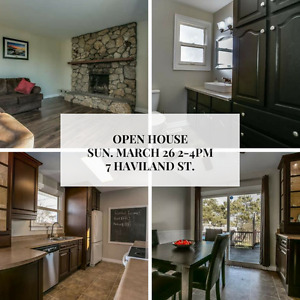 OPEN HOUSE 3 bed. bungalow with a LEGAL BASEMENT 1 BR APARTMENT
