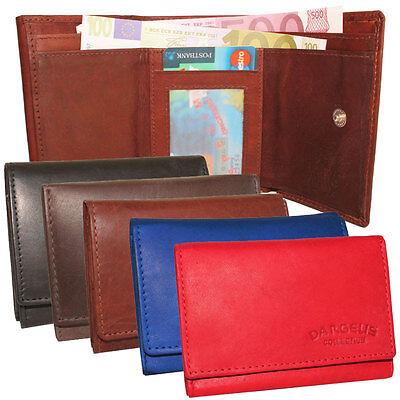 5 Kleine Leder (Leder Minigeldbörse Minibörse Portemonnaie Geldbeutel kleine Geldbörse 5 Farben)