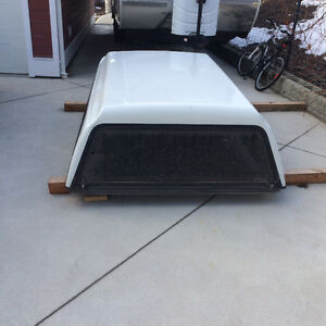 White canopy for full size pick up