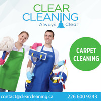 ClearCleaning™ Carpet Cleaning Services