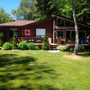 Haliburton cottage for rent - 5 bdrms beautiful lake front