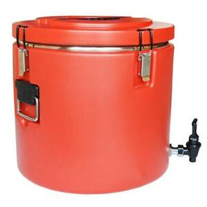 Stainless Steel Insulation Barrels Drink Container Warming Equipment with Faucet 220381 Stainless Steel Insulation Barre