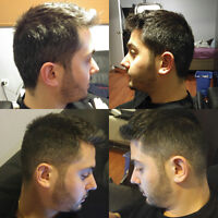 Free haircuts supervised by pro barbers