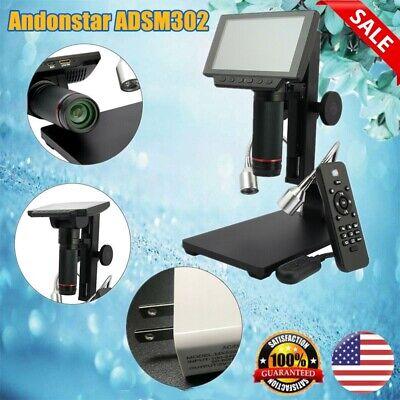 Andonstar Adsm302 Hdmi Digital Microscope Long Work Distance For Pcb Repair Top