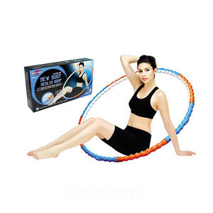 New Body Health Weighted Massage Ball Hula Hoola Hoop 1.1Kg 2.43lb Fitness