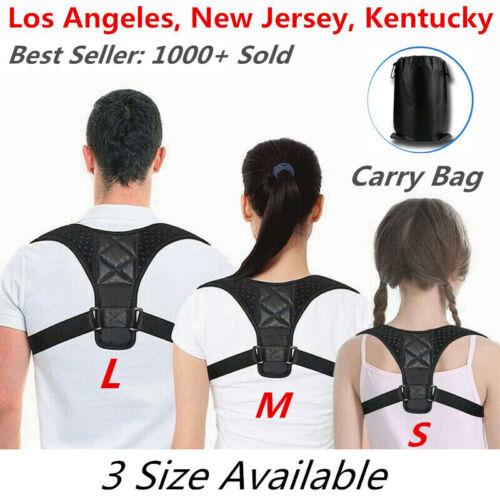 posture corrector men support back shoulder pro