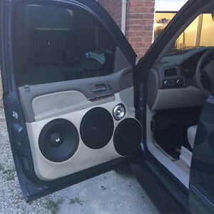 CAR AUDIO INSTALLATION from $9.99- AMP & SUB FROM $39.99