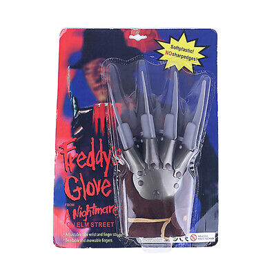 Freddy Krueger Claw (For Halloween Party Freddy Krueger Gloves Wolverine Ghost Claw Gloves)