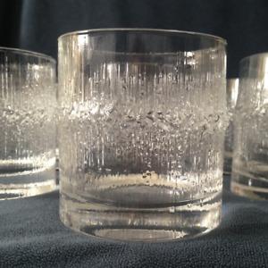 Iittala Niva - Set of 7 Double Old Fashioned Glasses (Barware)