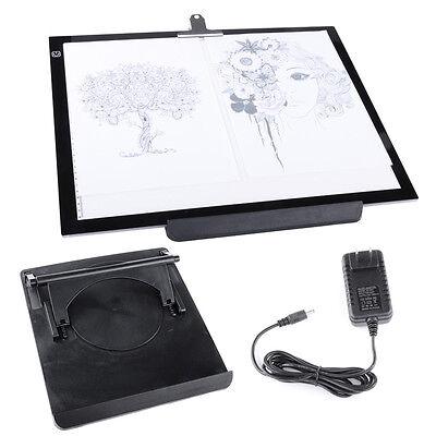 """19""""  A3 LED Artist Stencil Board Tattoo Drawing Tracing Table Light Box Pad 12V"""