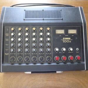 Console amplifiée Yamaha amplified mixer EM-100 II vintage