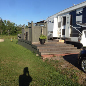 Patio deck for sale (for camper)