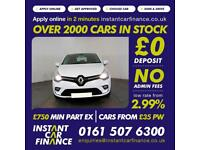 Renault Clio Dynamique Nav 1.1 Manual Petrol GOOD/BAD CREDIT CAR FINANCE