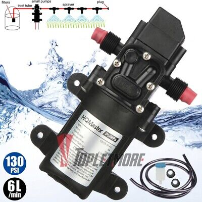 110v Self Priming Water Pressure Pump Diaphragm Pump For Caravanrvmarine Ac