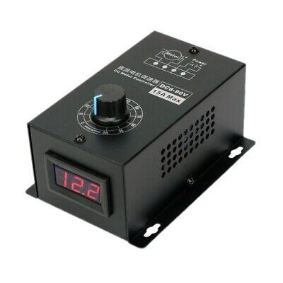 Dc Motor Speed Regulator 6v-90v Pwm Module Digital Controller Switch Display