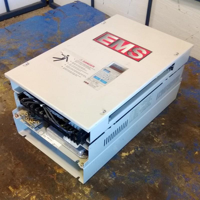 Yaskawa Ems 50/60hz 380-460vac 48.0a Transistor Inverter Model Vgu-4022