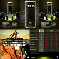 "#1Healthy Energy Drink ""Neon"""