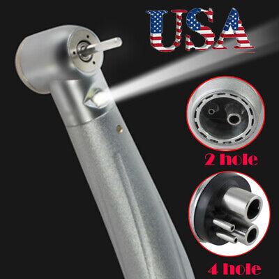 2/4 Hole Dental E-generator Fiber LED Standard Turbine High Speed Handpiece - Speed Turbine