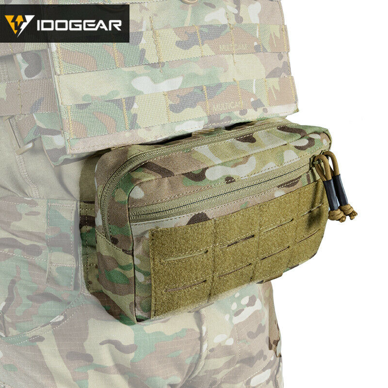 IDOGEAR Tactical Pouch MOLLE Pouch EDC Bag Hunting Accessory Utility Pouch Gear