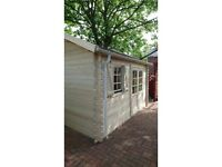 Garden building, summerhouse, log cabin (13 X 10 FT, 44 MM)