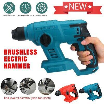 For Makita 18v Battery Cordless Brushless Sds Plus Rotary Hammer Drill Body Only