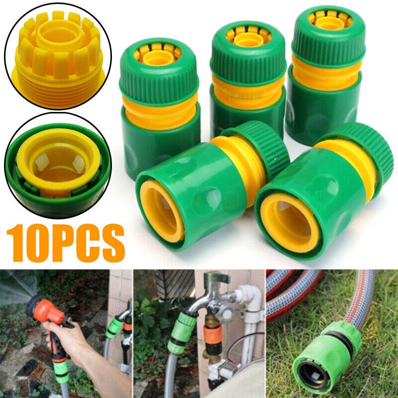 Garten Schnellkupplung Schlauchverbinder Schlauchanschluss Adapter 5 Tlg