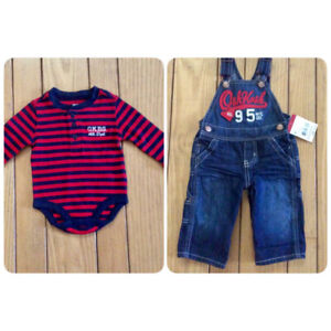 3b0278dd4ab Boys OshKosh Top   Overalls