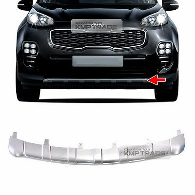 OEM Front Bumper Duard Skid Silver Plate Guard Trim for KIA 2017-2018 Sportage