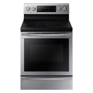 3 year old Samsung Electric Range - Stainless Steel