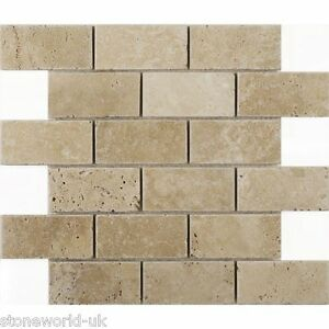 Travertine Brick Tiles Ebay