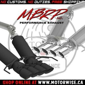 MBRP Pro & Black Series Axleback | 2014 to 2018 Chevrolet Corvette | Shop & Order Online at www.motorwise.ca