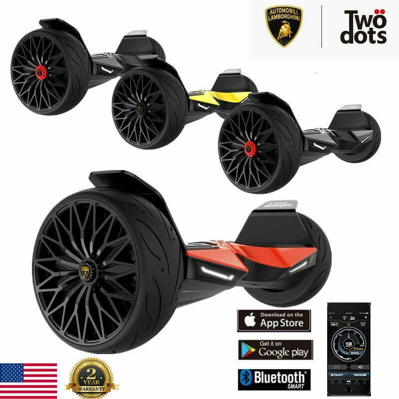 LAMBORGHINI  Hooverboard Bluetooth app enabled electric scoo